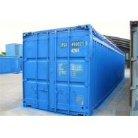 China 40OT second hand goods Open Top Shipping Container for standard transport wholesale