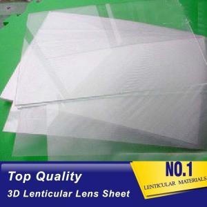 China Plastic  Lens PS/PET/PP Material 75/100/161 Lpi 3d lenticular lens sheet lenticular printing films with 3d flip effect wholesale