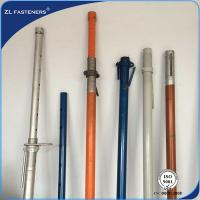 China Heavy Duty Adjustable Telescopic Prop , Adjustable Construction Props 120*120*4 wholesale