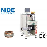 China Single side Inuction Motor Stator Winding Lacing Machine / Lacing speed 0.7S/slot wholesale