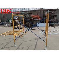 China Durable Steel Tubular Scaffolding Ladder Frame For High Rise Building Construction wholesale