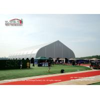 China Special Curved Shape Sport Event Tent for Outdoor Football Court with Strong Frame wholesale