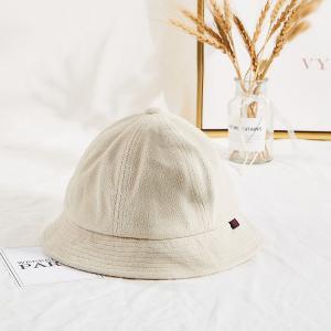 China Warm Faux Lamb Plush Winter Fisherman Bucket Hat For Women Girls wholesale