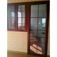 China Household Washroom Aluminium Framed Sliding Doors Double Tempered Glazed wholesale