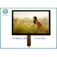 "China IIC Interface PCT Projected Capacitive Touch Screen , 10.1"" LCD Panel With GT928 wholesale"