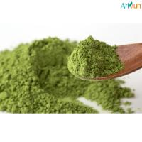 Quality Pure Organic Natural Food Coloring Powder , Matcha Green Tea Powder Hairdressing for sale