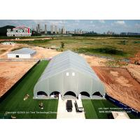 Buy cheap Large Aluminium Curve Shape Structure PVC Indoor Sport Event Tents for Sale from wholesalers