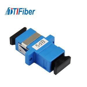 China Good Stability Fiber Optic Attenuator Singlemode Simplex SC SC Fixed 1db/5dB wholesale
