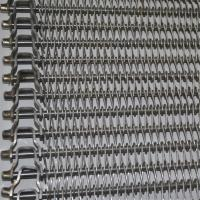 China Balanced Wire Mesh Conveyor Belt With High Temperature Resistance SGS wholesale