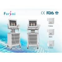 Buy cheap Beauty Salon Device HIFU Focused Ultrasound High Frequency for anti aging wrinkle machines from wholesalers