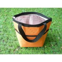 China Outdoor Insulated Picnic Kids Lunch Bags Yellow Color For Hiking wholesale