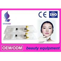 China  Injectable Gel Stabilized Hyaluronic Acid Filler For Chin Lip / Plastic Surgery  for sale