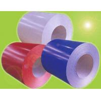Quality Colour/Painted  1100 1050 1060 3003 5052  8011 Aluminum Coil for ACP and Roofing  with PE or PVDF for sale