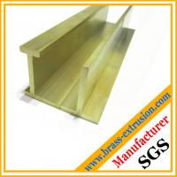 Wholesale leaded brass flat bars extrusion profiles from china suppliers