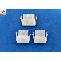 China 4.20mm Pitch Single Row Power Connectors Mini-Fit Plug Housing with Panel Mounting Lock wholesale