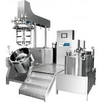 China Equipment Used In The Manufacture Of Emulsions Milk / Cosmetic Manufacturing 1000L Emulsifying Machine wholesale