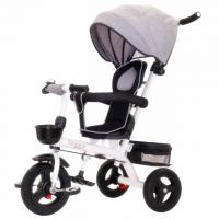 China New design 360 degree rotation girls baby tricycle / foldable baby 3 wheel trike car wholesale