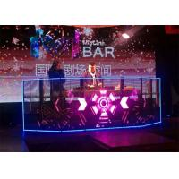 China 7mm Glass Transparent LED Screens Rental Billboard Excellent Heat Sinking wholesale