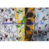 China Reactive Print Custom Cotton Fabric / Custom Printed Cloth 72GSM wholesale