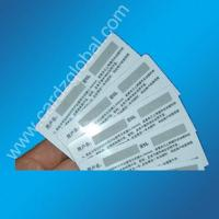 China Scratch off card/pre-paid card wholesale