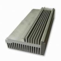 China Clear 6063-T5 Aluminum LED Heat Sink Extrusion Profiles With Tapping / Stamping wholesale