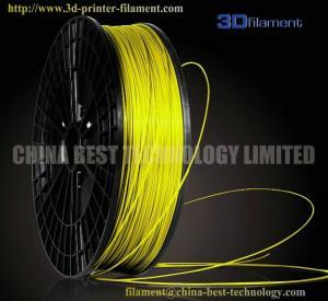 China 3D Printer Filament PLA 1.75mm Fluorescent Yellow wholesale