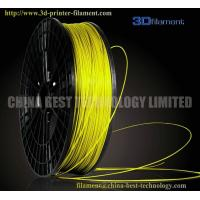 Buy cheap 3D Printer Filament PLA 1.75mm Fluorescent Yellow from wholesalers
