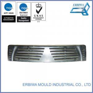 China Plastic Car Spare Part Custom Injection Molding Black Exterior Trim Parts wholesale