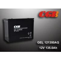 China 12V 135AH AGM Gel Lead Acid Battery , Energy Storage Battery For Solar Wind Application wholesale