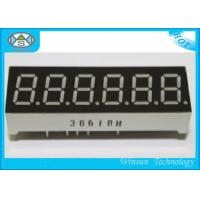 China High Luminous 7 Segment Led Digital Display 0.36 Inch / 6 Digit 7 Segment Lcd Display wholesale