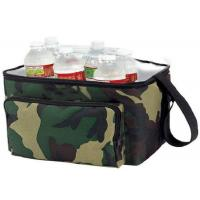 China OEM Design Nylon Material Insulated Wine Cooler Bag Double Deck Cooler Bag wholesale