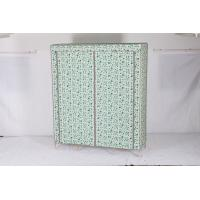 China wooden Non-woven Wardrobe, Bedroom wardrobe  25mm /19MM 3 door wholesale