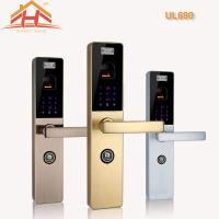 China Touch Screen Biometric Lock Door Lock With Fingerprint Scanner , Voice Prompt wholesale