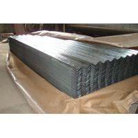 China AA1050 1060 Corrugated Aluminum Roofing Sheet Width 820mm - 1000mm Silver Color wholesale