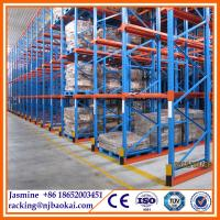China Stainless steel Drive In/Drive-Thru Pallet Racking for industrial warehouse wholesale