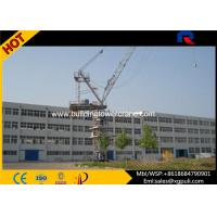 Quality Span 50M Fast Erecting Luffing Jib Crane , 50m Free Height Tower Crane for sale