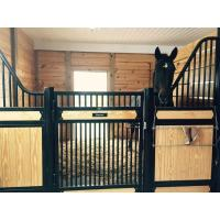 Buy cheap Amazing Horse Stable Partitions / Steel Horse Stalls With Single Sliding Gate from wholesalers