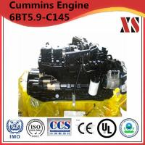 China Cummins construction diesel engine 6BT5.9-C145 wholesale