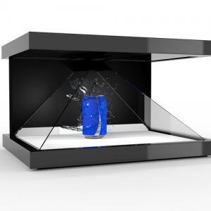 China Customized  3D Holographic Pyramid Display Showcase Hologram Box wholesale