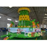 China Popular Kids Inflatable Sport Game 4 Line Sewing For Running Track wholesale