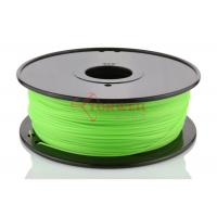 China Hot Sale 1.75MM PLA Green 3D Printer Materials Filament For UP / Solidoodle wholesale