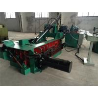 China Pushing - Out Discharging PLC Control Scrap Baling Machine Hydraulic Drive wholesale