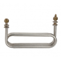 China Oval Stainless Steel Coaxial Heat Exchanger Smooth Surface 1.0mm Thickness wholesale