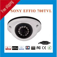 China Free Shipping Effio Sony HD CCD 960H 700TVL Color 12 IR Indoor Outdoor CCTV Dome Security Camera wholesale