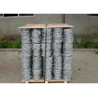 Buy cheap Single , Double , 4 Strand Razor Barbed Wire For Fence Protective 450mm - 960mm from wholesalers