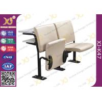 Buy cheap Foldable Comfortable Soft Leather Lecture Hall Seating / Student Classroom from wholesalers