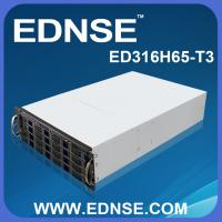 China ED316H65-T3 Good Ventilation 1.2mm SGCC 3U Server Case with 16 Bay Hot Swap on sale