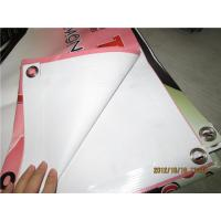 China Digital Printing Large PVC Vinyl Banners Weather Resistant CMYK Color Code wholesale