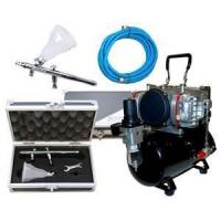 China Low noise, 47db Professional Airbrush Tattoo Kit with 7cc Airbrush for women, kids wholesale