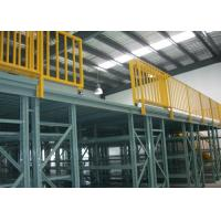 Quality Powder Coated Multi Tier Mezzanine Rack High Space Utilization for sale